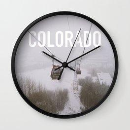 Colorado. Wall Clock