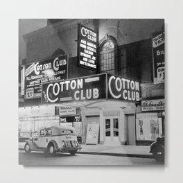 African American Harlem Renaissance Cotton Club Jazz Age Photograph Metal Print