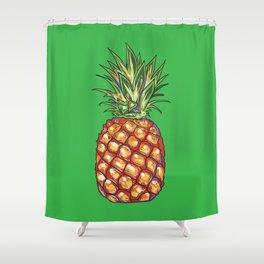 Pineapple, tropical, Hawaii Shower Curtain