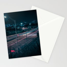 Chattanooga at Night Stationery Cards
