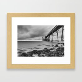 Clevedon Pier Framed Art Print