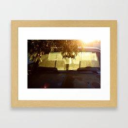 Clunker Framed Art Print