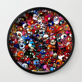 Takashi Murakami - There Are Little People Inside Me Wall Clock