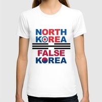 korea T-shirts featuring North Korea by pollylitical