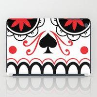 sugar skull iPad Cases featuring sugar skull by Diseños Fofo