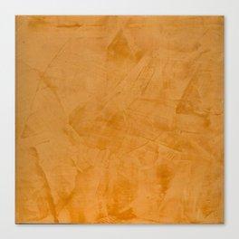 Dante Orange Stucco - Luxury - Rustic - Faux Finishes - Venetian Plaster Canvas Print