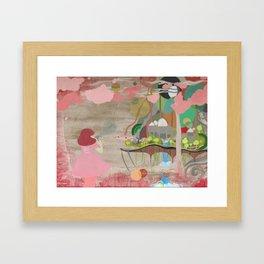 Bubblelandia Framed Art Print