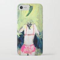 chile iPhone & iPod Cases featuring Oración al chile by Violeta Rivera