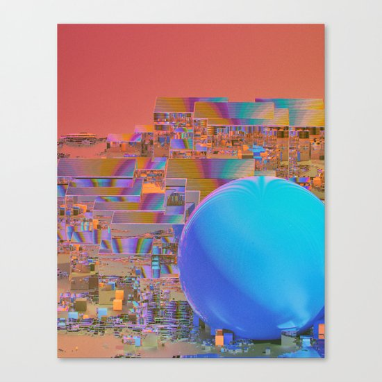 MICROPROCESSOR (everyday 06.28.16) Canvas Print