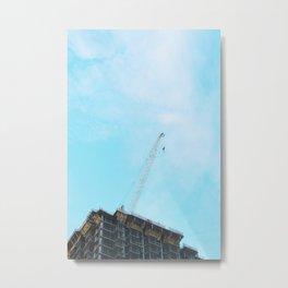 Building exterior in Las Vegas United States Metal Print