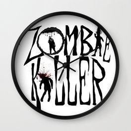Zombie Killer (Control) Wall Clock