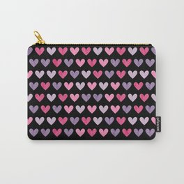 Colorful hearts VI Carry-All Pouch