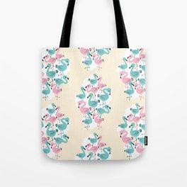 Flamingo Go Go Tote Bag