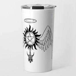 Destiel Logo Travel Mug