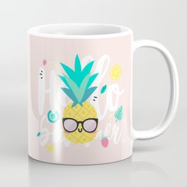 Pineapple - Hello Summer ! Kaffeebecher
