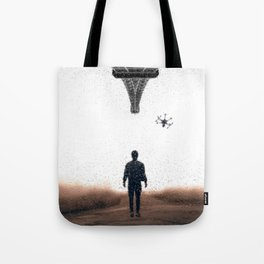 Bringing my drone to Paris by GEN Z Tote Bag