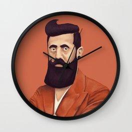 The Israeli Hipster leaders - Binyamin Ze'ev Herzl Wall Clock