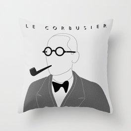 Le Corbusier Throw Pillow
