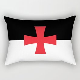 Knights Templar Flag Rectangular Pillow