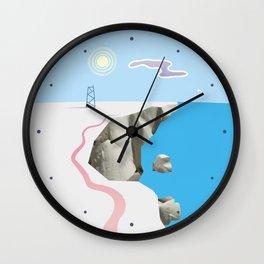 White Silence Wall Clock