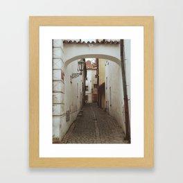 CZECH ALLEY Framed Art Print