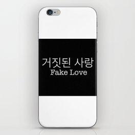 Fake love - BTS iPhone Skin