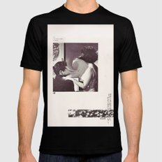 an occasional woman Black Mens Fitted Tee MEDIUM