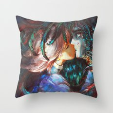 All This Time Throw Pillow
