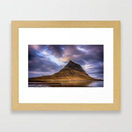 Church Mountain Iceland Framed Art Print