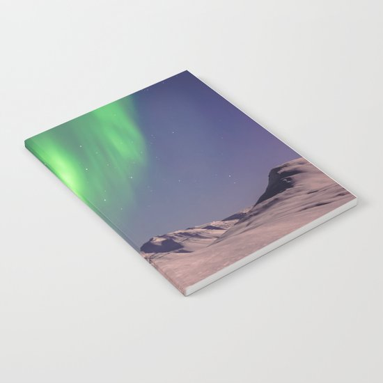 The Northern Lights (Aurora Borealis) Notebook