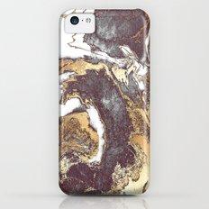 Black White Gold Slim Case iPhone 5c