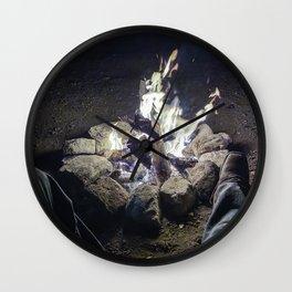 Campfire Delight Wall Clock