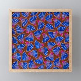 Tail Feather Fan Capulana Framed Mini Art Print