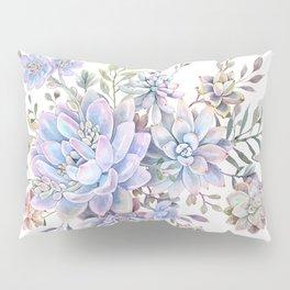 succulent watercolor 7 Pillow Sham