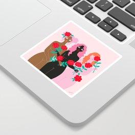 girl friends Sticker
