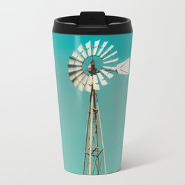 Windmill in America Travel Mug
