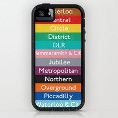 London Underground iPhone (5, 5s) Adventure Case