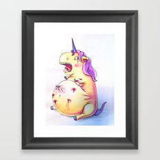Joys of Pregnancy Framed Art Print