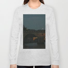 Bridges of Rome in the Evening Long Sleeve T-shirt