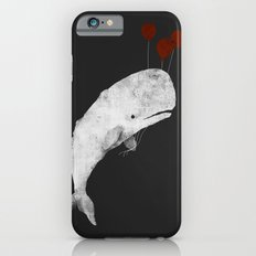 Whale with Balloons iPhone 6s Slim Case
