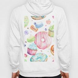 Sweets Pattern Hoody