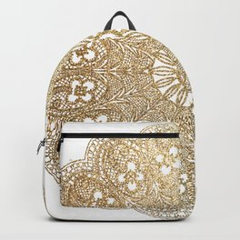 Golden Doily Backpack