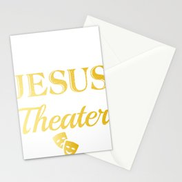 Funny Retro Vintage Musical Theater Stationery Cards