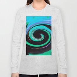 Swirling colors 02 Long Sleeve T-shirt
