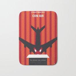 No446 My CON AIR minimal movie poster Bath Mat