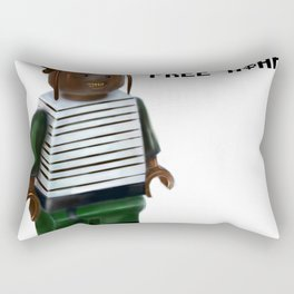 Free A$AP Rectangular Pillow