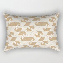 Fractal Wave L Rectangular Pillow