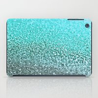 teal iPad Cases featuring TEAL  by Monika Strigel