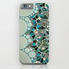 Bloom Mandala in Ocean iPhone 6s Slim Case