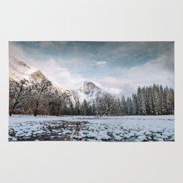 Yosemite Winter Wonderland Rug
